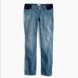 J. Crew Maternity Slim Broken in Boyfriend Jeans